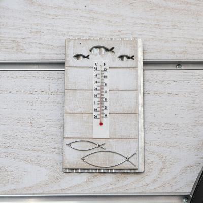 Thermomètre bois et métal...