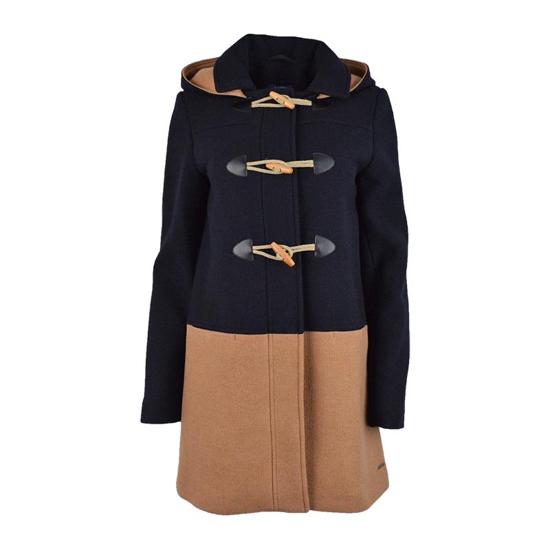Duffle coat en laine pour femme Saint James