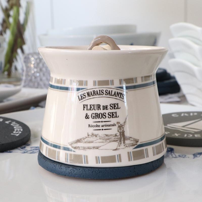 """Pot à sel collection """" Paludier"""""""