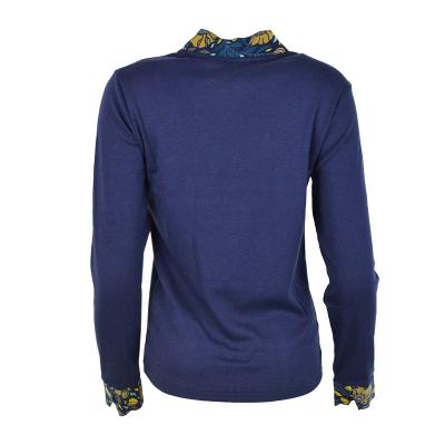 T-shirt à col fleuri Armor-Lux  76815 (3)