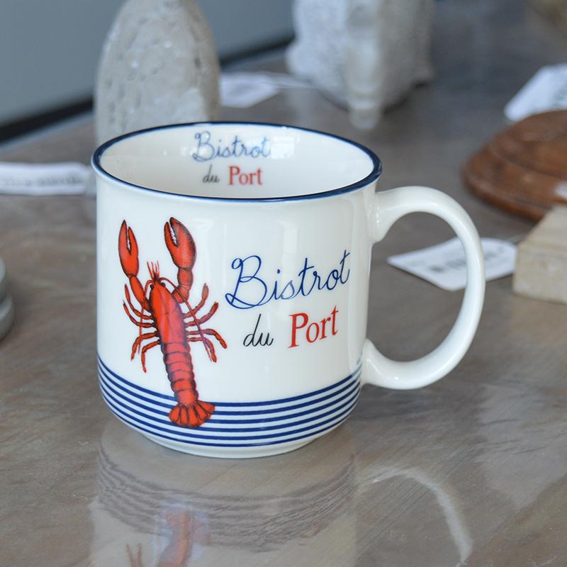 """Mug timbale collection """"Homard"""""""