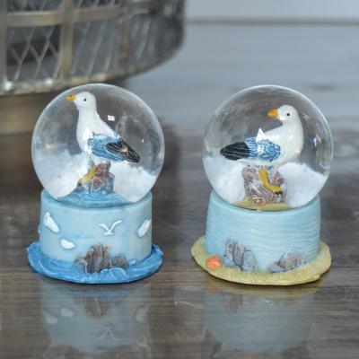 Petite boule à neige mouette