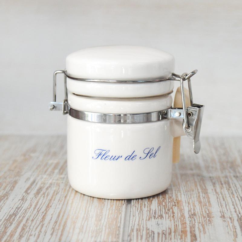 Pot à sel hermétique uni