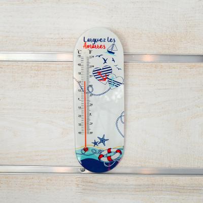 Thermomètre en verre...