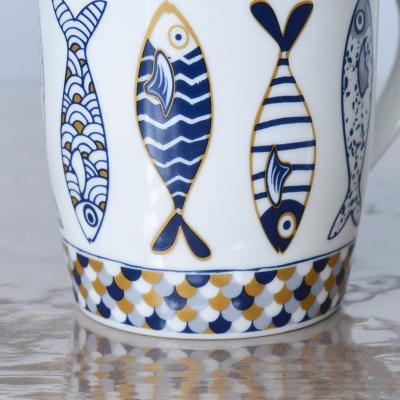 "Mug large collection ""Nautilus"" (5)"