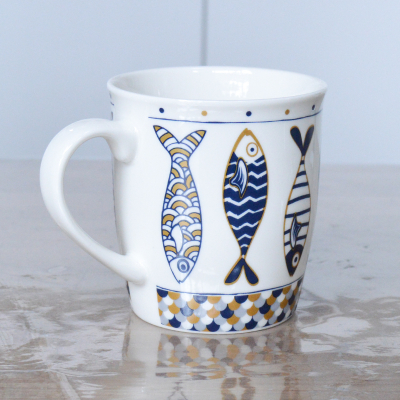"Mug large collection ""Nautilus"" (3)"