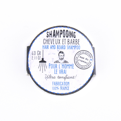 Shampoing Solide Homme - Cheveux et Barbe (2)