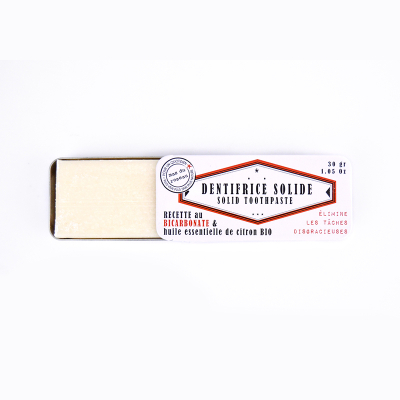 Dentifrice Solide au Bicarbonate (2)