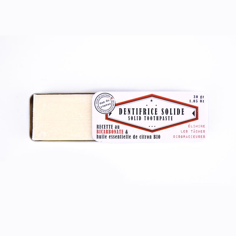 Dentifrice Solide au Bicarbonate