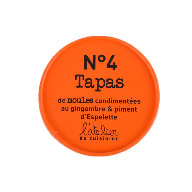 Tapas n°4 Moules condimentées au gigembre & piment d'Espelette