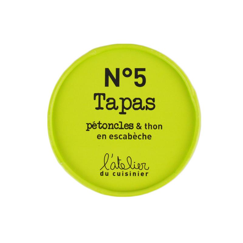 Tapas n°5 Pétoncles & Thon en escabèche