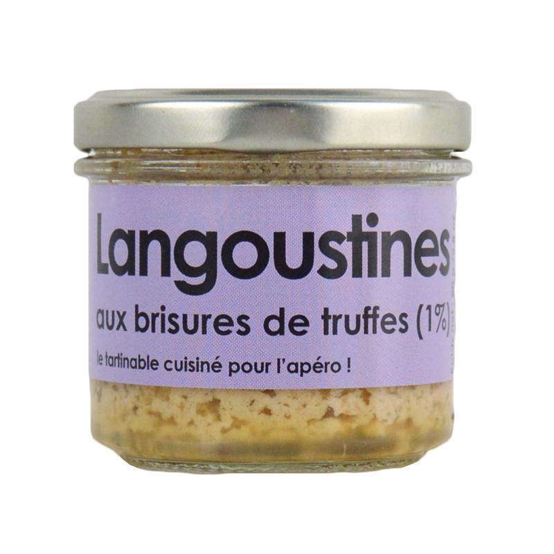 Rillettes de Langoustine aux truffes