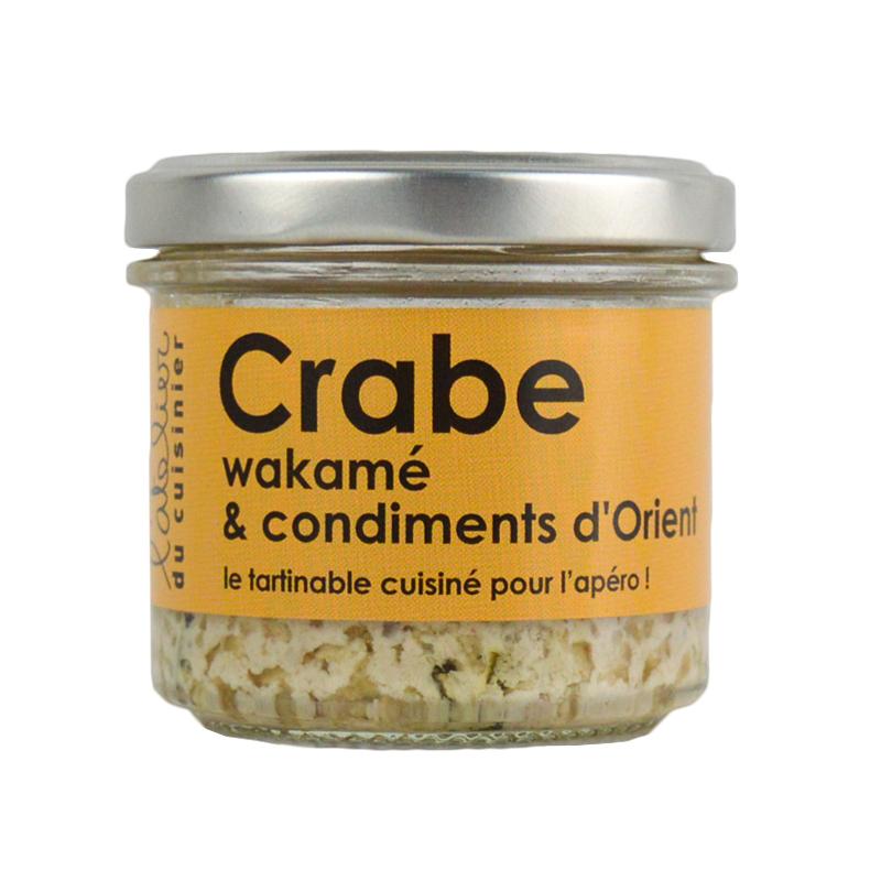 Rillettes de Crabe au Wakamé