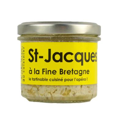 Rillettes de St-Jacques à la fine Bretagne (2)