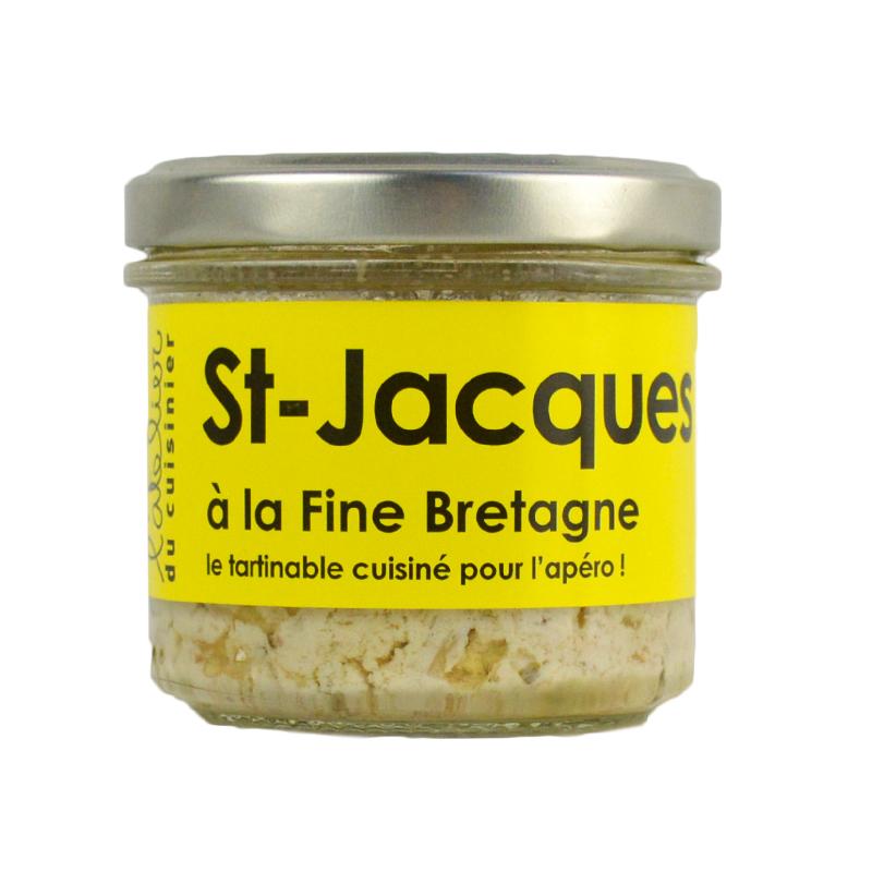 Rillettes de St-Jacques à la fine Bretagne