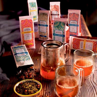 Thé noir saveur fraise des bois nuit coquine (4)