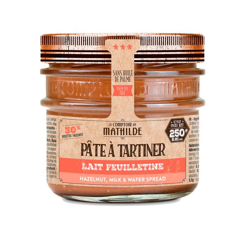 Pâte à Tartiner - Lait Noisette Feuilletine