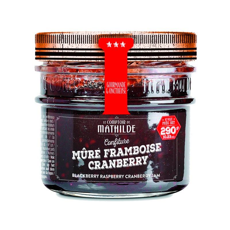 Confiture - Mûre Framboise Cranberry