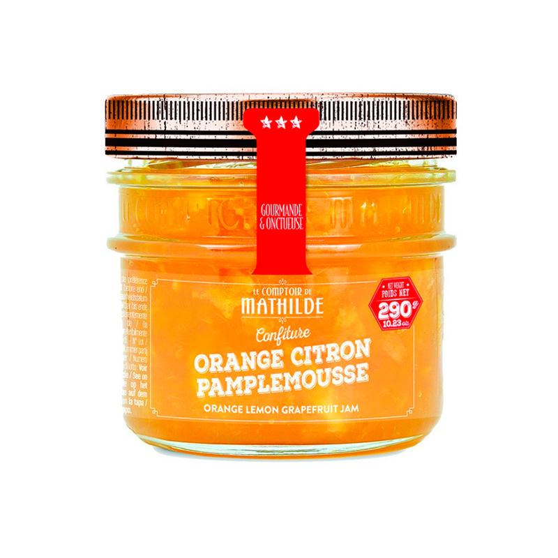 Confiture - Orange, Citron, Pamplemousse