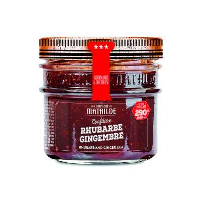 Confiture - Rhubarbe Gingembre (2)