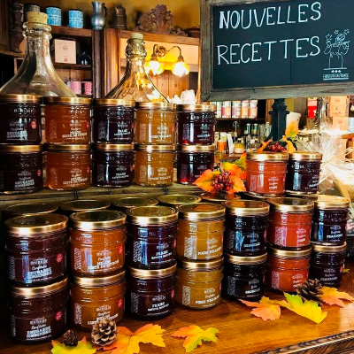 Confiture - Rhubarbe Gingembre (3)