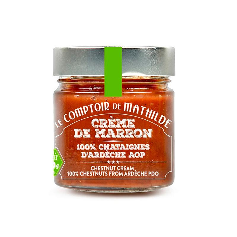Crème de marron - 100 % Châtaignes d'Ardèche AOP