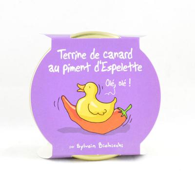 Terrine de Canard au piment d'Espelette (4)