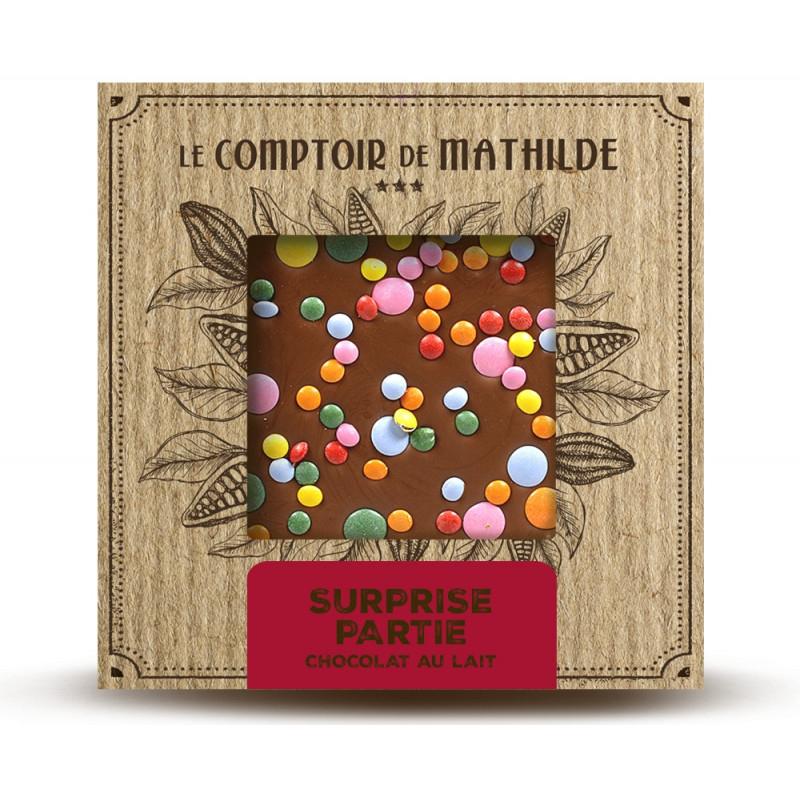 Tablette Chocolat au Lait Surprise Partie