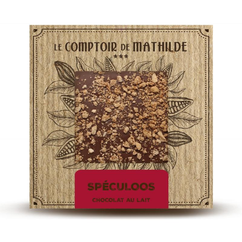 Tablette Chocolat au Lait Speculoos