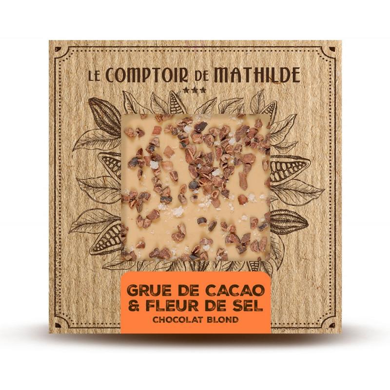 Tablette Chocolat blond Grué & Fleur de sel