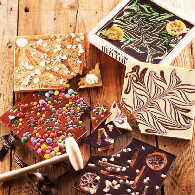 Chocolat à Casser - au Lait et Perles de Caramel (3)