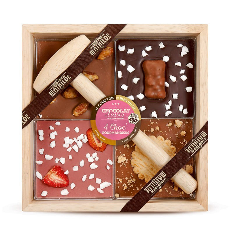 Chocolat à Casser - 4 Gourmandises