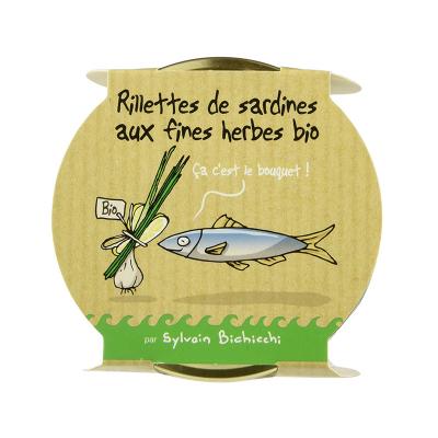 Rillettes de Sardines aux...