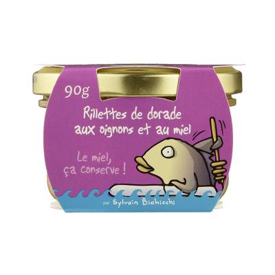 Rillettes de Dorade oignons - miel (4)