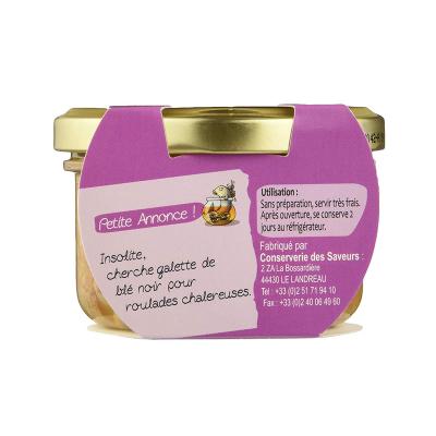 Rillettes de Dorade oignons - miel (3)
