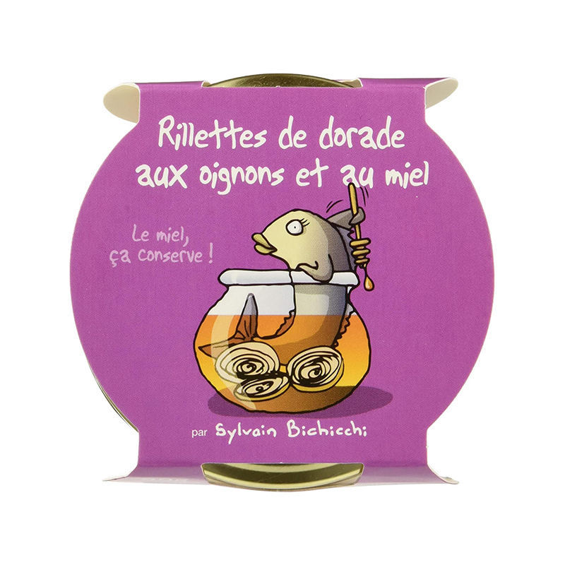 Rillettes de Dorade oignons - miel