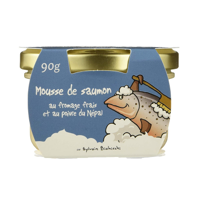 Mousse de Saumon au Fromage Frais et Poivre (4)