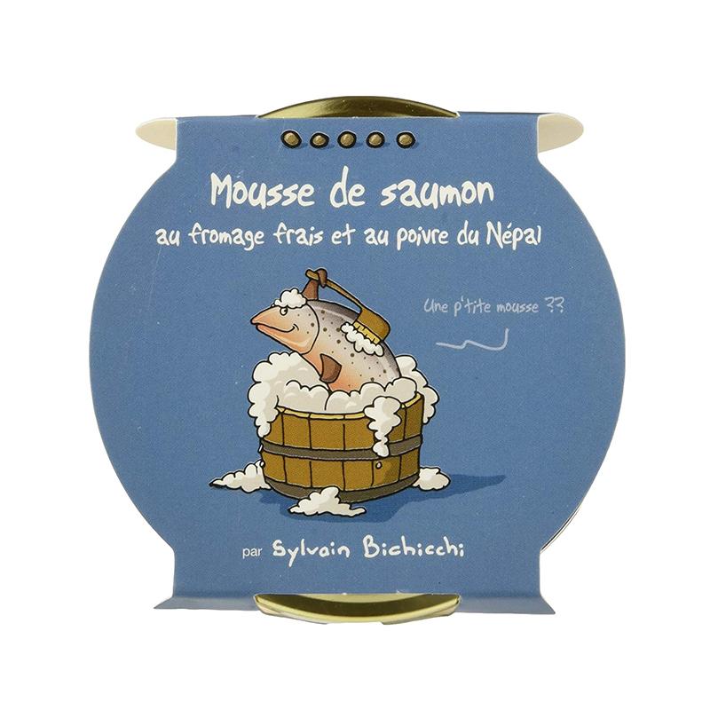 Mousse de Saumon au Fromage Frais et Poivre
