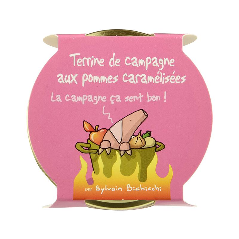 Terrine de Campagne aux Pommes caramélisées