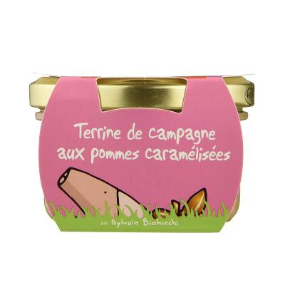Terrine de Campagne aux Pommes caramélisées (4)