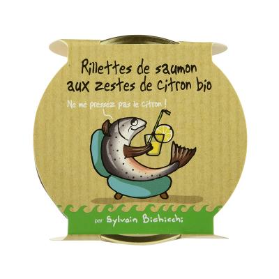 Rillettes de Saumon au...