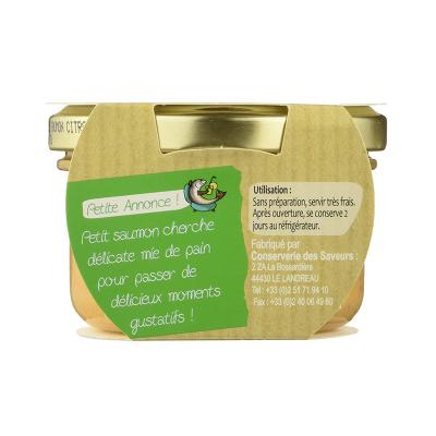 Rillettes de Saumon au zestes de citron BIO (3)