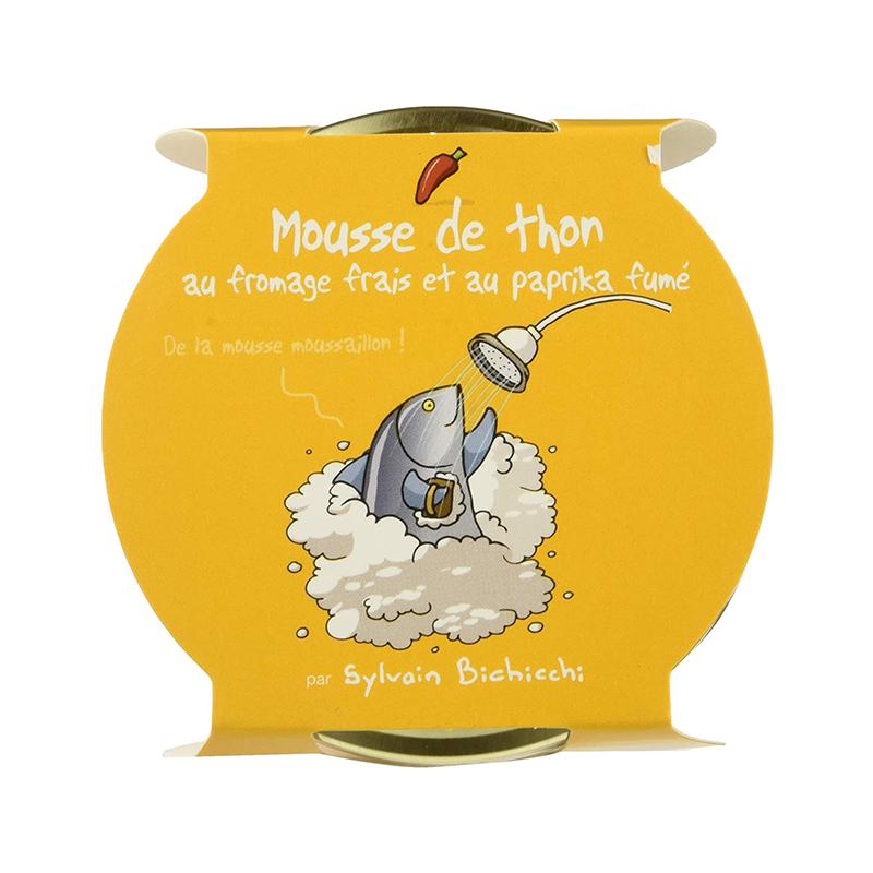 Mousse de Thon au Fromage frais et Paprika