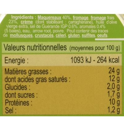 Mousse Maquereau au Fromage Frais et 5 Baies (6)