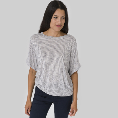T-shirt ample rayé Batela