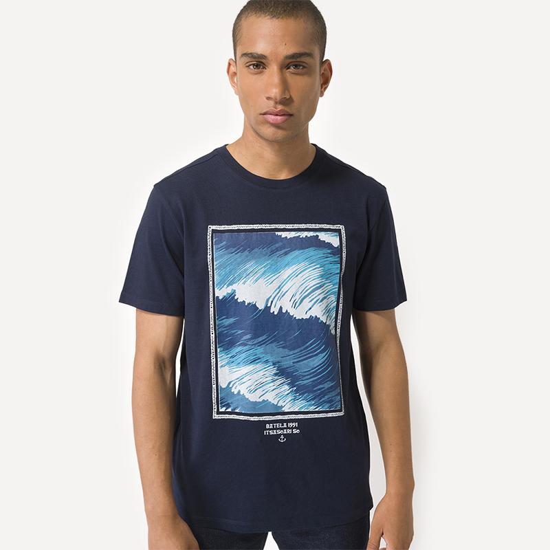 T-shirt waves Batela