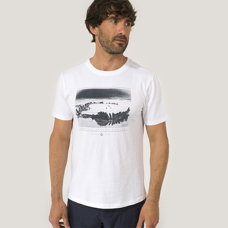 T-shirt Basque Batela