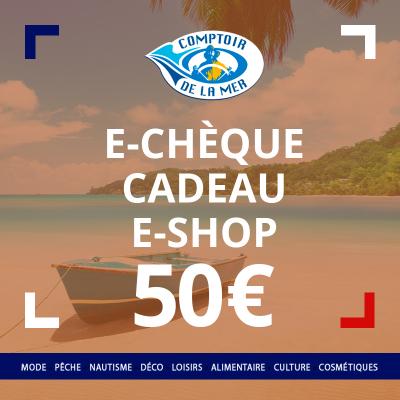 E-Chèque Cadeau 50 €