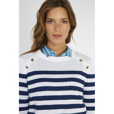 Pull marin col bouton Armor-Lux (4)