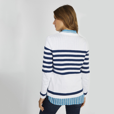 Pull marin col bouton Armor-Lux (6)